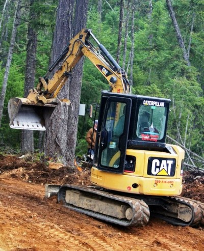 Clark Pacific Excavating - CAT 304C CR