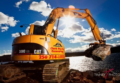 Clark Pacific Excavating - CAT 320LU Excavator