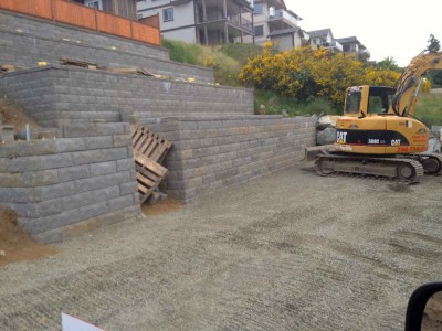 Alan-block Retaining Wall